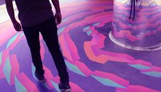 Chakraview: An anamorphic illusion game. on Behance