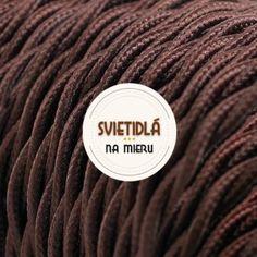 Textilné káble skrútené Luster