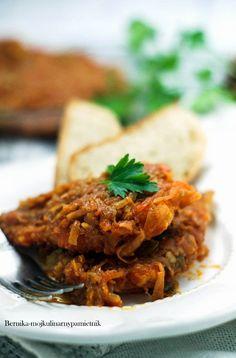 ryba po grecku, dorsz, wigilia, bernika, kulinarny pamietnik