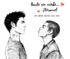 """So to others this would be considered as incest since """"Miguel"""" is Stiles' cousin. from Mexico. But carry on. Teen Wolf Fan Art, Teen Wolf Ships, Otp, Tyler Hoechlin, Dylan O'brien, Sterek Fanart, Teen Wolf Funny, Derek Hale, Guy Drawing"""