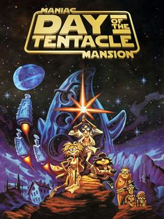 Maniac Mansion 2, Day Of The Tentacle