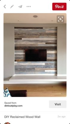 This coloring/staining of pallet walls? Love the variation in shades