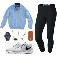 Cute sporty outfits for middle school Legging Outfits, Adrette Outfits, Teen Fashion Outfits, Look Fashion, Teen School Fashion, Cute Sporty Outfits, Preppy Outfits, Cute Athletic Outfits, Teenager Outfits