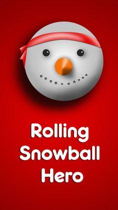 Rolling Snow Ball Hero  #iosgames #iosapps