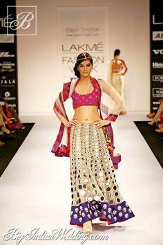 Payal Singhal Lakme Fashion Week 2012