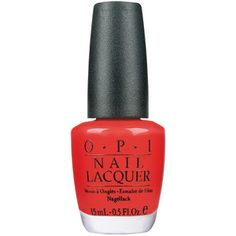 """OPI NAIL LAQUER - """"Monsooner or later"""". Wow."""