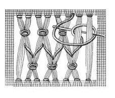 """Схема выполнения мережки """"козлик"""""""