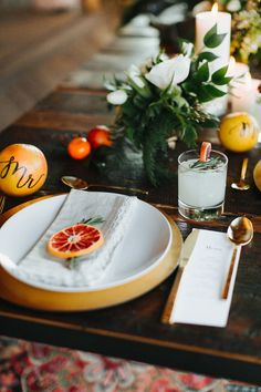 21 Ideas for fruit decoration wedding table place settings Fruit Wedding, Orange Wedding, Wedding Summer, Wedding Flowers, Trendy Wedding, Fruit Decorations, Decoration Table, Summer Wedding Centerpieces, Wedding Decorations