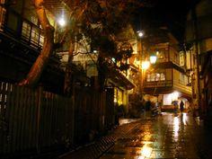 mysterious, Shibu-Onsen, Nagano, Japan