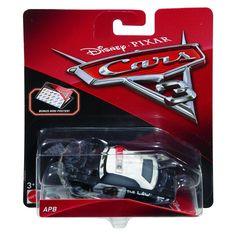 Cars 3 Diecast 1:55 Scale APB Disney Cars Characters, Disney Pixar Cars, Baby Shower Niño, Matchbox Cars, Ag Dolls, Police Cars, Toy Store, Car Car, Old Cars