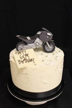 Motorcycle Birthday Cake Pinteres