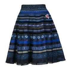 Ribbon Skirt midnight blue - Autumn Winter 2015/2016 - Online Shop - Lena Hoschek Online Shop