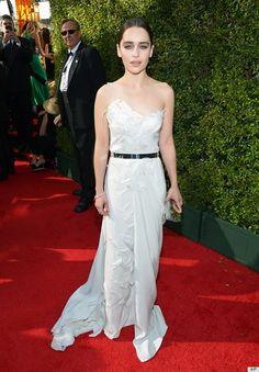 Emilia Clarke - Donna Karan Atelier Emilia Clarke, Fashion Articles, Dresses 2013, Nice Dresses, Formal Dresses, Wedding Dresses, Formal Wear, Emmys Best Dressed, September 22