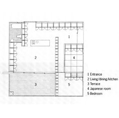 Family House Plans, Family Houses, Shigeru Ban, Yamanashi, Apartment Plans,  Small House Design, Home Furniture, Flooring, Storage
