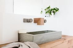 wood melbourne timber concrete tap ware