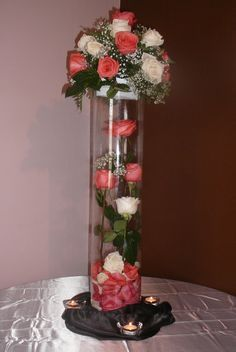Breathtaking fresh floral centerpieces for any occasion starting at $100!
