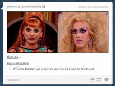 """62 Likes, 1 Comments - when in doubt, freak 'em out  (@shalaskatox) on Instagram: """"The shadeee of it all . . ➡ Queens: Bianca Del Rio, Adore Delano . . . . . #rupaulsdragrace #rpdr…"""""""
