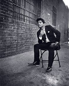 Bruno Mars- I think I'm gonna write him a letter asking him to marry me. Would that be a dumb thing to do? (Haha couldn't resist)
