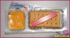 loved these as a kid... now slightly grossed out by the fake cheese