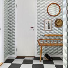 tapet 60-tal - Sök på Google Own Home, Entrance, Entryway, Mood, Interior Design, Google, House, Inspiration, Furniture