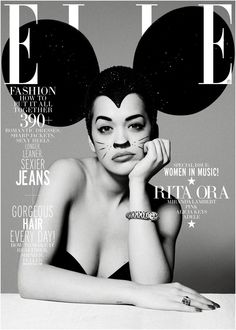Fun cover with Rita Ora.