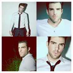Zachary Quinto. Why are you gay? :(