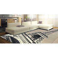 Terra Paris Rectangle Area Rug Grey/Black/White, Just Ordered This Rug! Paris  Living U0026 FashionParis Themed ...