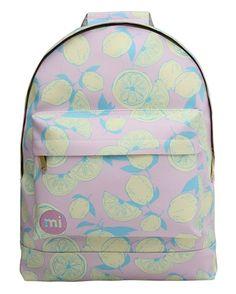 3813e42f907a9 Mi-Pac Rugzak Gold Citrus Pop Pink