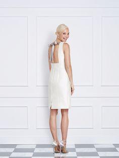 bc1bffba64b9f Jane Summers Lisa little white silk reception
