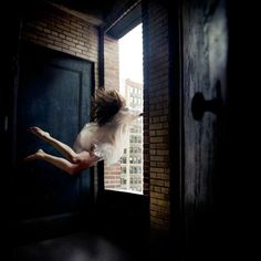 Lucid Dream: I always levitate or fly in my lucid dreams. I was in a building and flew down and around the corridors. I tried the light switch but it didn't work, so a dream character helped me turn on the lights. Then the dream was no longer dark, and was flooded with color and light.