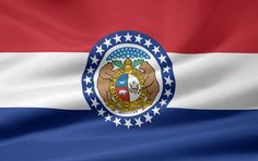 Picture of the Missouri state flag.
