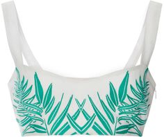 Launching her label in the New York-based designer serves a kaleidoscopic joie de vivre aesthetic, heavy in globally-inspired prints. This **Mara White Bralette Top, Bralette Tops, Vacation Style, Vacation Outfits, Vacation Fashion, Mara Hoffman, Top Pattern, Nice Dresses, Just For You