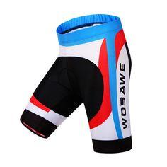 WOSAWE Pro Men Cycling Shorts Mountain Bike Riding Bicycle 3D Padded Gel Shorts Fitness Ciclismo Clothing Sportswear