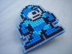 Pin-Megaman. $5.00, via Etsy.