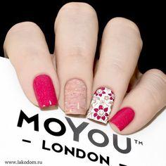 Top 30 Trending Nail Art Designs And Ideas - Nail Polish Addicted Love Nails, Pink Nails, Gel Nails, Nail Polish, Fabulous Nails, Perfect Nails, Nagel Stamping, London Nails, Nail Decorations
