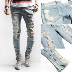 Ripped Jeans: How To Make Ripped Jeans ( DIY ) | Home, Mens ...