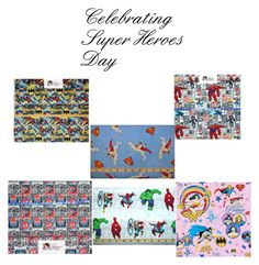 """""""Super Heroes Day Celebrations"""" by petis-1 ❤ liked on Polyvore featuring art, superheroes, superheroines, celebrationtimes and fabriccobblershop"""