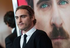 Actor Joaquin Phoenix attends the premiere of Warner Bros. Pictures' 'Her' at DGA Theater on December 12, 2013 in Los Angeles, California.