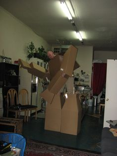 carboard suit 5.0 11