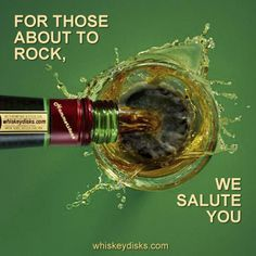 Make your weekend rock! #bourbon #whiskey #booze