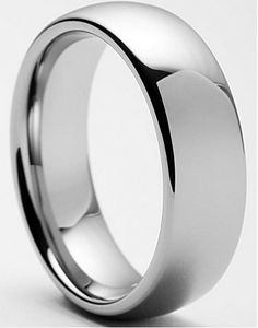 Classic 8mm Tungsten Carbide Ring | Men's Tungsten Classic Wedding Band 8mm  Take $20.00 Off - Black Friday Only.  Use code 'FRIDAY'
