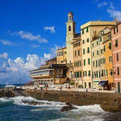 #Liguria #boccadasse #genova #italy #sea #love