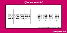 Can your child solve it? #CogAT