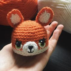 Доделала, но не знаю как вместе с хвостиком её показать( #амигуруми #игрушка #handmade #amigurumi #crochet #crochettoy #fox #toy #лиса #хендмейд