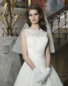 0766e91e5b1 28 Best Illusion Neckline Wedding Dresses images