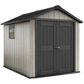 Keter Garden Shed Outdoor Storage House Solution Waterproof Oakland 757 226432 for sale online Plastic Storage Sheds, Storage Sheds For Sale, Plastic Sheds, Garden Storage Shed, Shed Building Plans, Shed Plans, Anti Mousse Terrasse, Outdoor Sheds, Outdoor Gardens