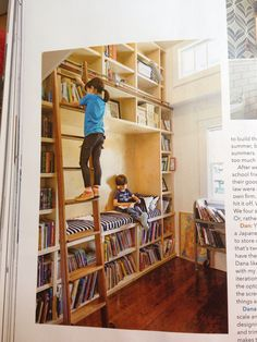 Library at home. Awesome. books, nooks, reading