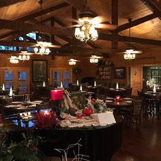 Christmas at the Lodge, perfect for winter weddings and meetings here at Hidden Mountain Resorts
