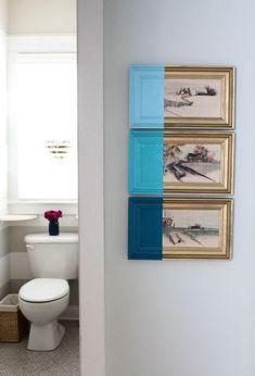 diy paint dipped artwork, crafts, diy, home decor