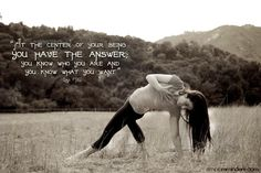 """""""At the center of your being you have the answer; you know who you are and you know what you want."""" ~Lao Tzu. SimpleReminders.com"""